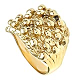 Citerna 9 ct Yellow Gold Men's Keeper Ring - Size V