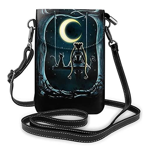 Teléfono celular monedero Crossbody teléfono cartera pasaporte bolsos bolso se adapta a la mayoría de los smartphones, color, talla Talla única