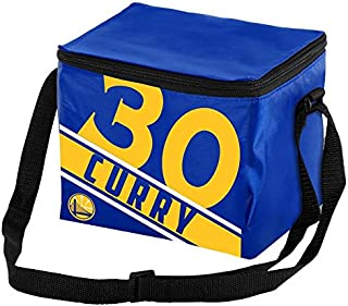 FOCO NBA Unisex Big Logo Stripe 6 Pack Cooler