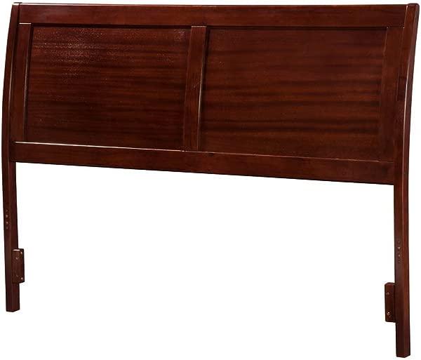 Atlantic Furniture 55 62 In Full Headboard In Walnut Finish