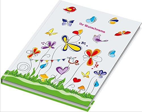 Kladde / Notizbuch / DIN A4 / 96 Blatt / kariert / 70g/m² /
