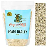 One in a Mill Pearl Barley 4lb Bulk Resealable Bag | For Beef Stew, Soups, Steel Cut Oatmeal,...