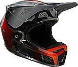 Fox Racing V3 RS Wired Helmet, Steel Grey, Medium