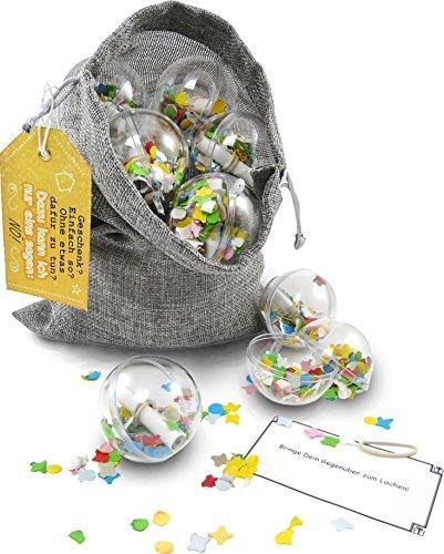 SURPRISA Neuheit: Originelle Geschenkverpackung + Rätselspiel + Geschenkidee: Ideal für Gutscheine und Geldgeschenke zu Geburtstag, Weihnachten & Jahrestag – Wiederverwendbar