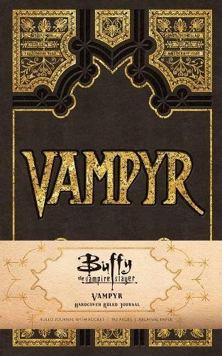 Buffy the Vampire Slayer: Vampyr Hardcover Ruled Journal (90's Classics)