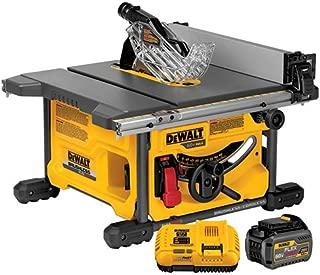 DEWALT DCS7485T1 FLEXVOLT 60V MAX Table Saw Kit, 8-1/4