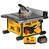 Best Jobsite Table Saws - DEWALT FLEXVOLT 60V MAX Table Saw, 8-1/4-Inch (DCS7485T1) Review