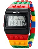 Shhors Rubber Digital Stopwatch Men's Ladies Sport Watch LED092