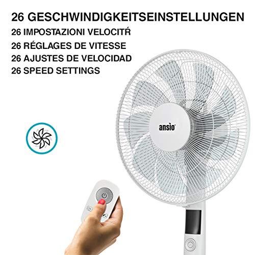 ANSIO Standventilator mit Fernbedienung Bild 5*