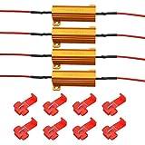 MOFANS 4pcs 12V 50W 6-ohm Led Load Resistor...