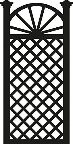 Marianne Design Craftables Die, Trellis Flowers