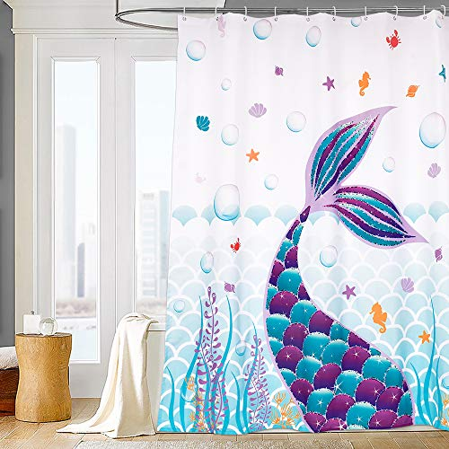 Mermaid Tail Shower Curtains