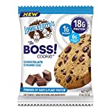 Lenny & Larry's The BOSS Cookie, Chocolate Chunk, 2 oz, 18g Dairy & Plant Protein, 1g Sugar, 6g Fiber, 1g Net Carbs - 12 Count