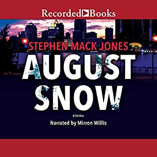 August Snow audiobook cover art