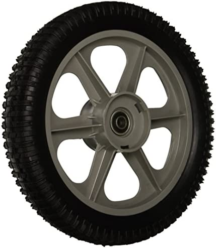MaxPower 335112 Plastic Spoked Wheel 12 X 2 Black product image