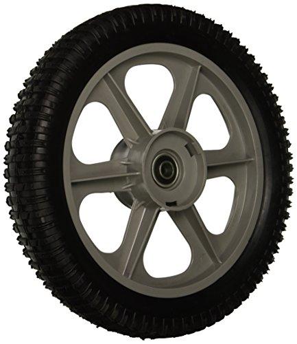 MaxPower 335112 Kunststoff-Speichenrad, 30,5 x 5,1 cm, schwarz