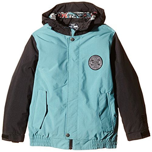 Nitro Jungen Snowboard-Jacke Boys Squaw Jacket 15, Tomato/Navy, L