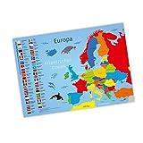 nikima Kinder Lernposter Europa - Plakat für Kindergarten