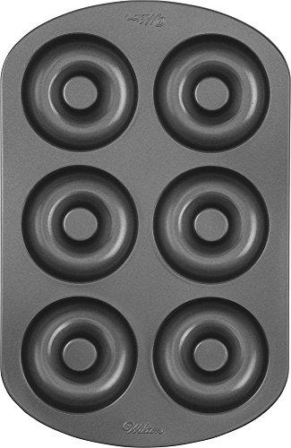 Wilton Donut-Backform, Antihaft, Groß, 6 Vertiefungen