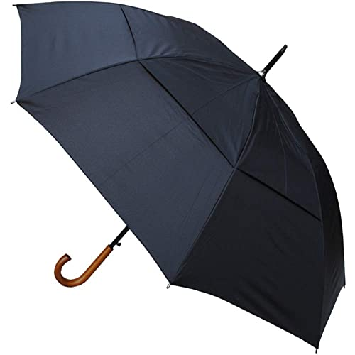 4683c670c63e6 COLLAR AND CUFFS LONDON - Windproof EXTRA STRONG - StormDefender City  Umbrella - Vented Canopy -
