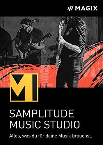 MAGIX Samplitude Music Studio 2022 | Alles, was du für deine Musik brauchst | Das komplette Studio zum Komponieren, Aufnehmen, Mixen und Mastern | Standard | 2 Gerät | PC Aktivierungscode per Email