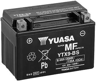 Batterie YUASA YTX9 BS (WC) AGM geschlossen, 12V|8Ah|CCA:135A (152x87x107mm) für Kawasaki Z750 ABS Baujahr 2008