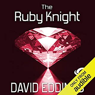 The Ruby Knight audiobook cover art