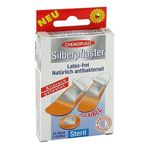 Silberpflaster Steril 3 Grössen, 10 St