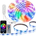 Govee 32.8ft LED Smart WiFi Waterproof Strip Light with Music Sync