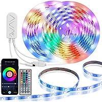 TaoTronics 32.8-Feet APP Controlled Smart WiFi Waterproof LED Strip Lights with Music Sync