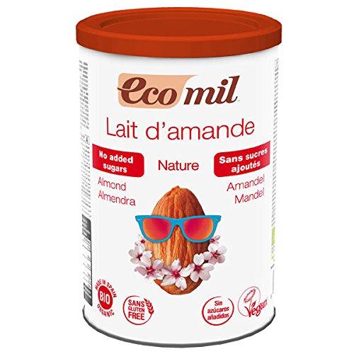 Nutriops(ヌートリオプス) EcoMil(エコミル)『有機アーモンドミルク ストレート(パウダー/砂糖不使用)』