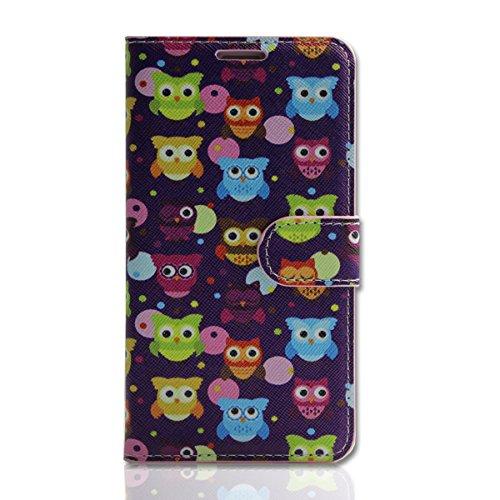 Handy Tasche - Book Style - Design EL - Cover Hülle Case Etui für Nokia Lumia 630