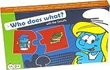 Barbo Toys Smurfs Juego Educativo ¿Quién Hace qué (8302)