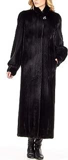 frr BLACKGLAMA Mink Full Length Coat