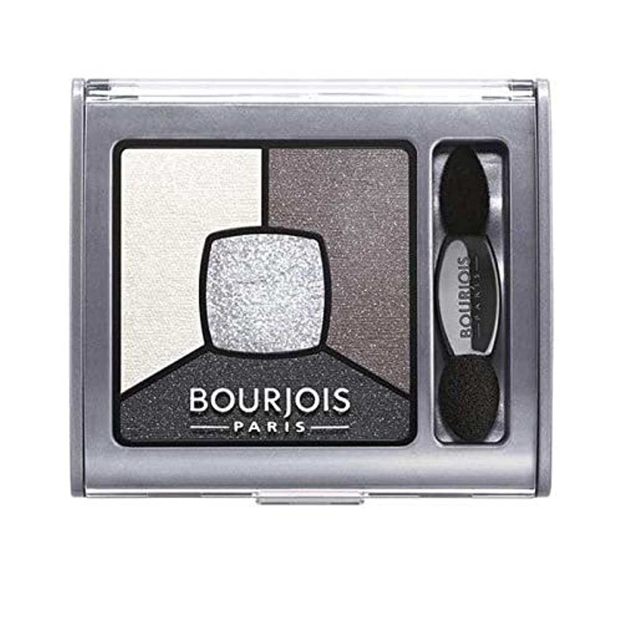 潜在的な野な性格[Bourjois ] ブルジョワクワッドスモーキー物語はグレー&ナイトアイシャドウ - Bourjois Quad Smoky Stories Eyeshadow Grey & Night [並行輸入品]