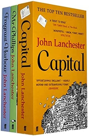 John Lanchester 3 Books Collection Set Capital Mr Phillips Fragrant Harbour product image