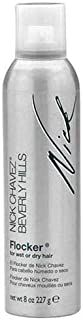 Nick Chavez Beverly Hills Flocker Premium Styling Spray - Layered and Textured Hair Styling Control with Antioxidants - Long Lasting and Weather Resistant - 8 fl oz