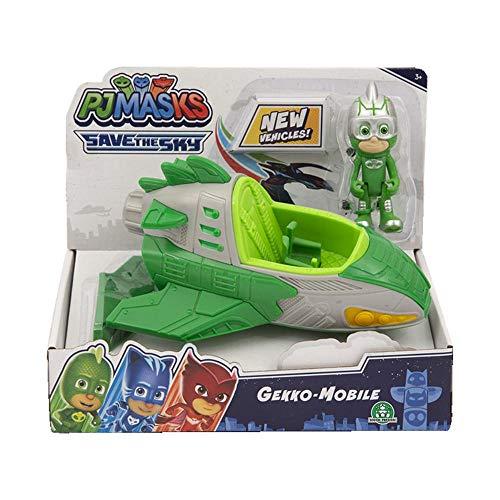 Giochi Preziosi - Pj Masks Jet C/Gekko Veicolo con Personaggio, PJMC1400