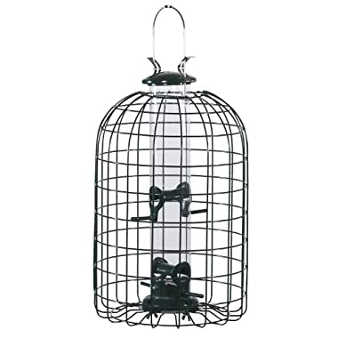 Audubon Squirrel Proof Caged Tube Type Bird Feeder Model NATUBE3
