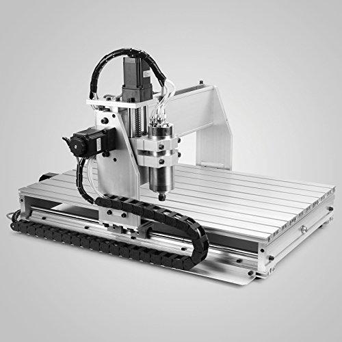 CNC Machine Engraving Machine CNC Milling Machine 6040Z 3 Axis Drilling Desktop Large Engraving 3D 1.5KW Inverter (6040Z (60 x 40 cm) 3 assi)