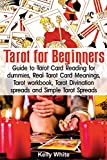 Tarot for Beginners: Guide to Tarot Card Reading for dummies - Real Tarot Card Meanings - Tarot workbook - Tarot divination spreads and Simple Tarot Spreads: Volume 1 (Tarot books)