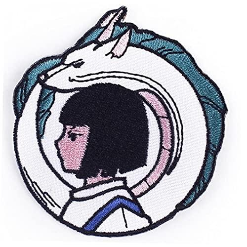 Froiny Piel Parche Bordado En Ropa Etiqueta Anime Decorativo Aplique Costura para Chaquetas Sombreros Mochilas
