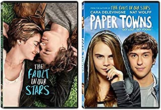 John Green Double Feature DVD Collection: The Fault in Our Stars / Paper Towns [Teenage Romance 2-Movie DVD Set]