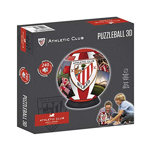 Athletic Club Bilbao Puzzleball Athletic Club (Tamaño Balón) 8,4 (63294), Multicolor, Ninguna (Eleven Force 1)