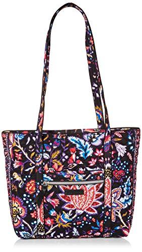 Vera Bradley Signature Cotton Small Vera Tote Bag, Foxwood