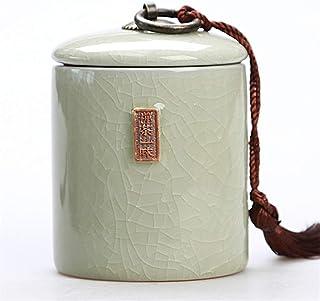 Boîte à thé de Taille Moyenne Boîte de Rangement d'épices Biscuit de Bonbons Pot de Miel pour bocaux de Rangement de Cuisi...