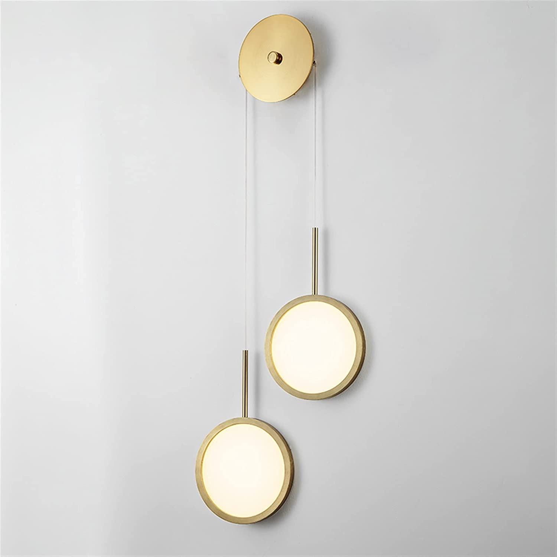 Wall Light Led Lamp 18W Adjusta Acrylic Nashville-Davidson Mall Gold Aluminum 5% OFF Black