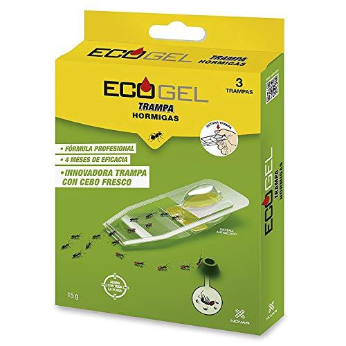 Ecogel Hormigas Trampa Hormigas 15 Gramos (Caja De 3 Unidades)