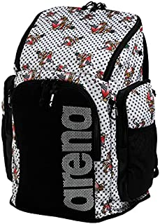 Arena Team 45L Swimming Athlete Sports Backpack Training Gear Bag for Men and Women, Crazy Tattoos