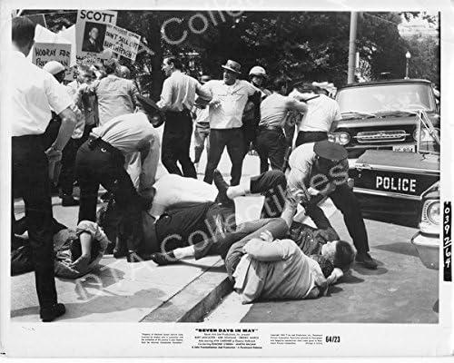 MOVIE PHOTO: SEVEN DAYS IN DOUGLAS- Tampa Mall MAY-1964-BURT Long Beach Mall LANCASTER-KIRK
